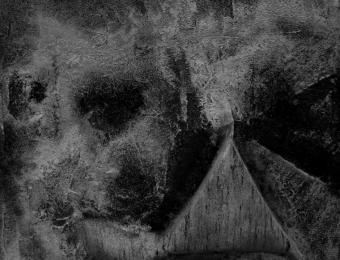 11. Spiritus Artifex Tellus Orbis Responsum, olio e carta su legno, dettaglio, 2013