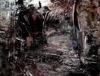 3. Olio su tela, dettaglio, 2013