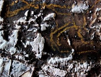 7. Olio su legno, dettaglio, 2015